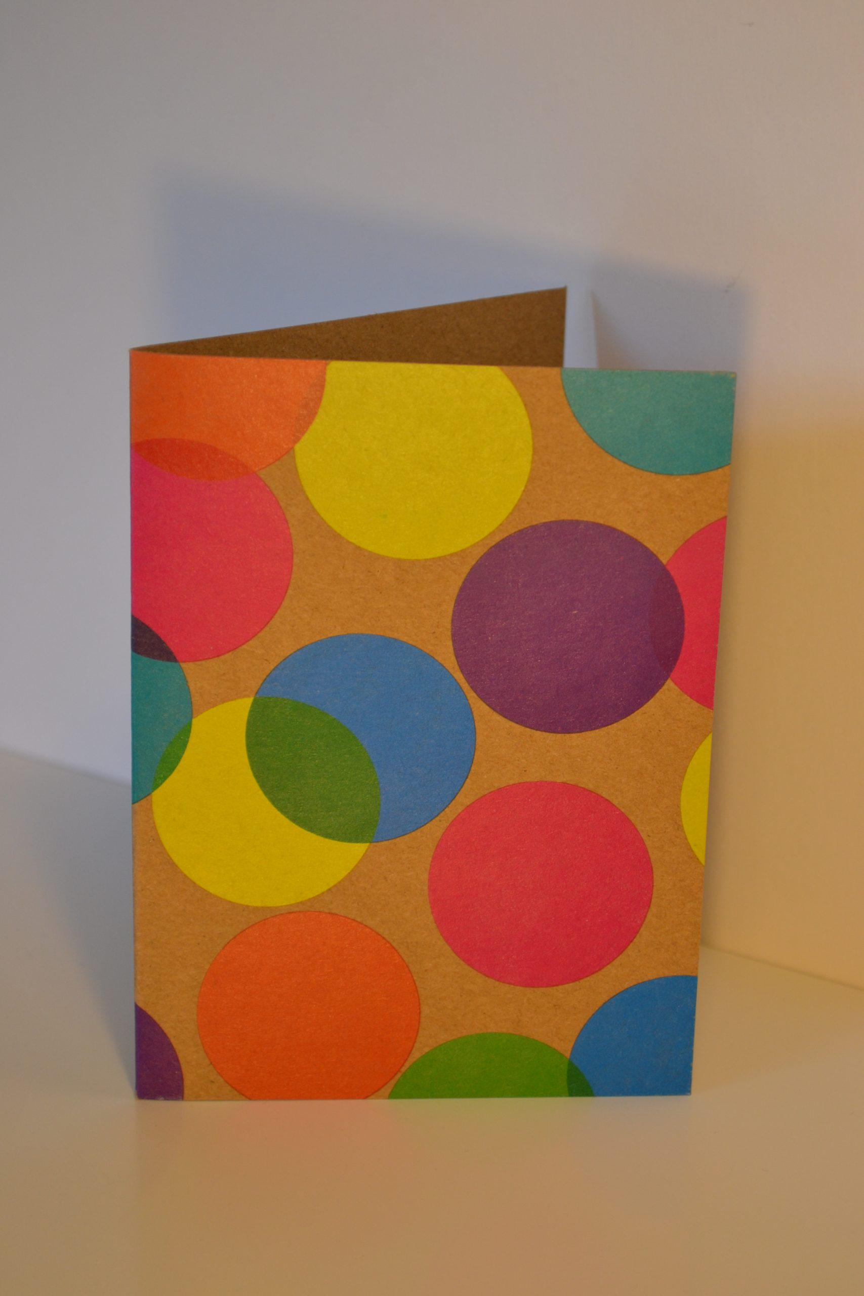 Greeting Card - Circles