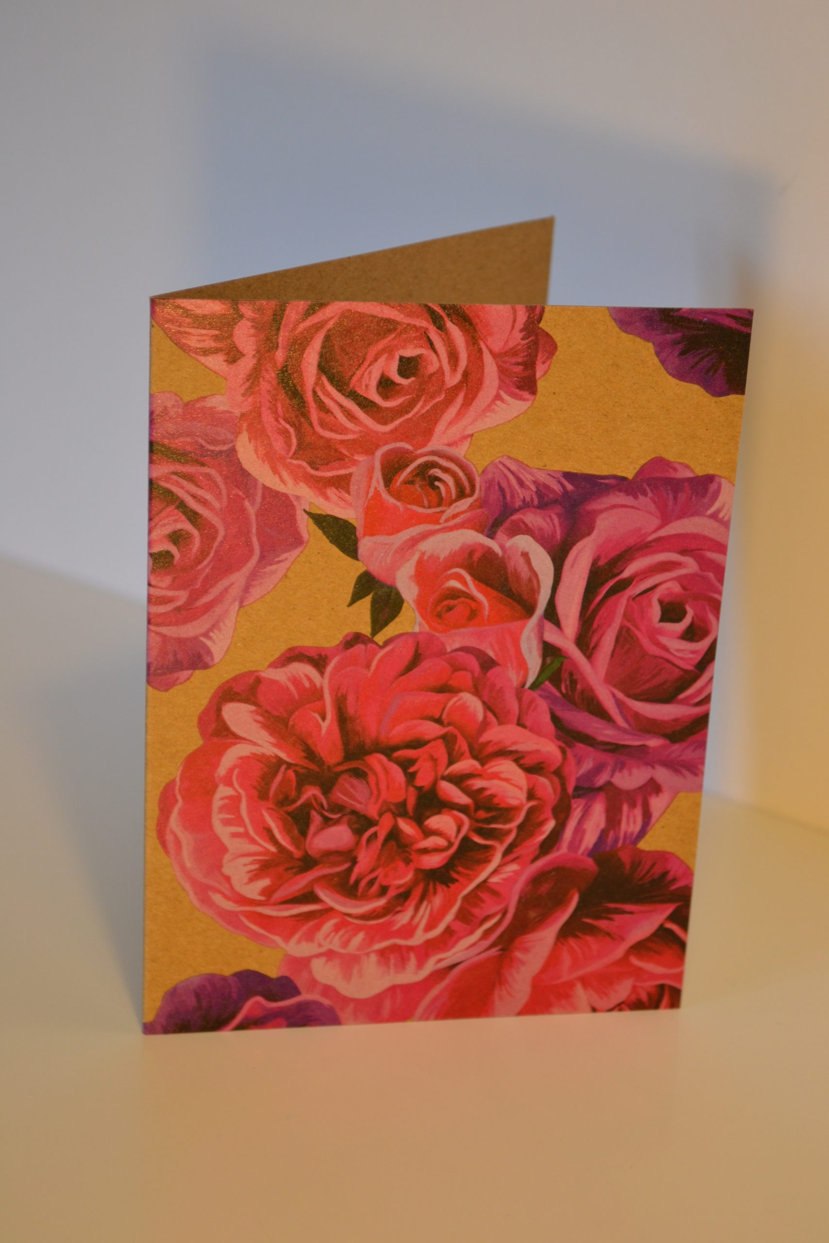 Greeting Card - Roses