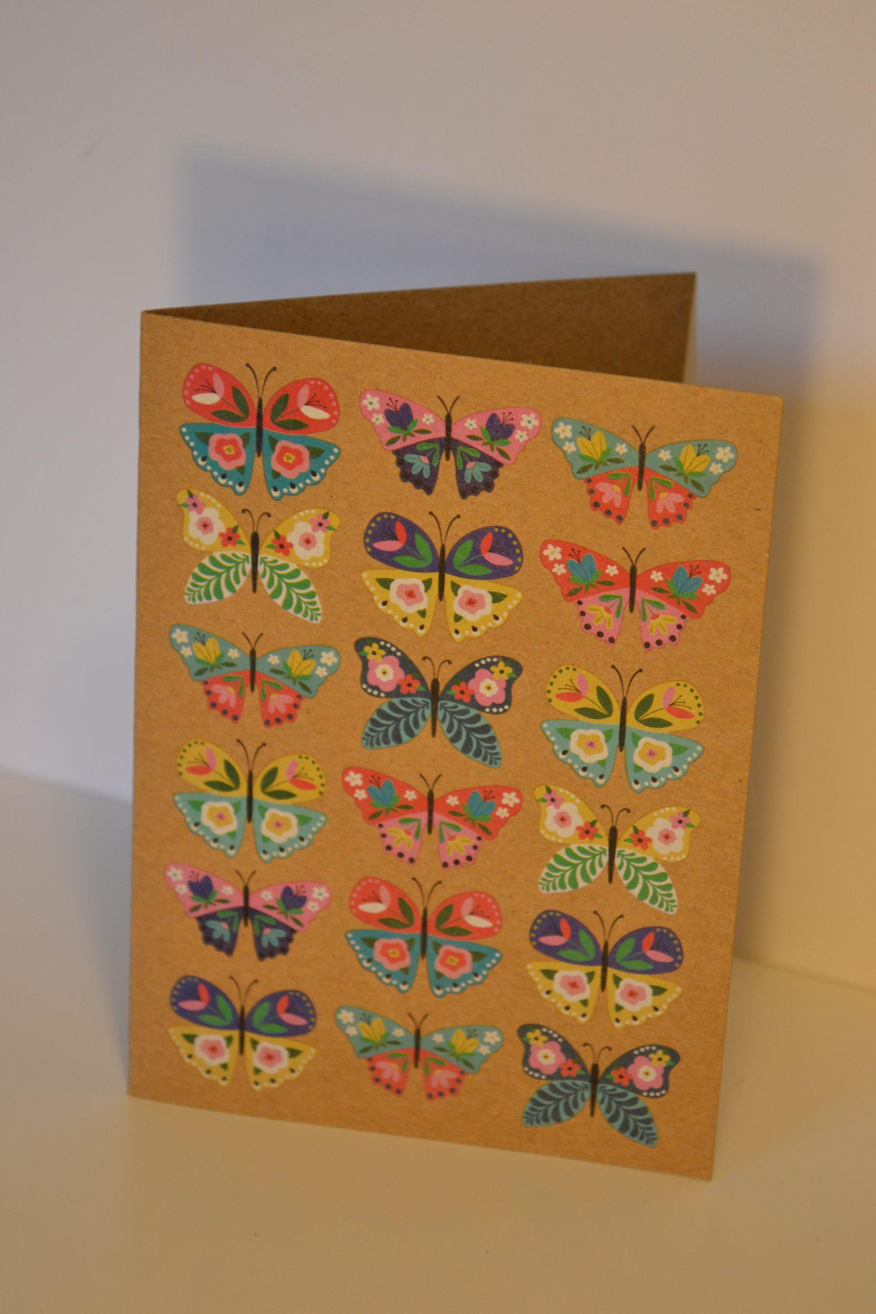 Greeting Card - Butterflies