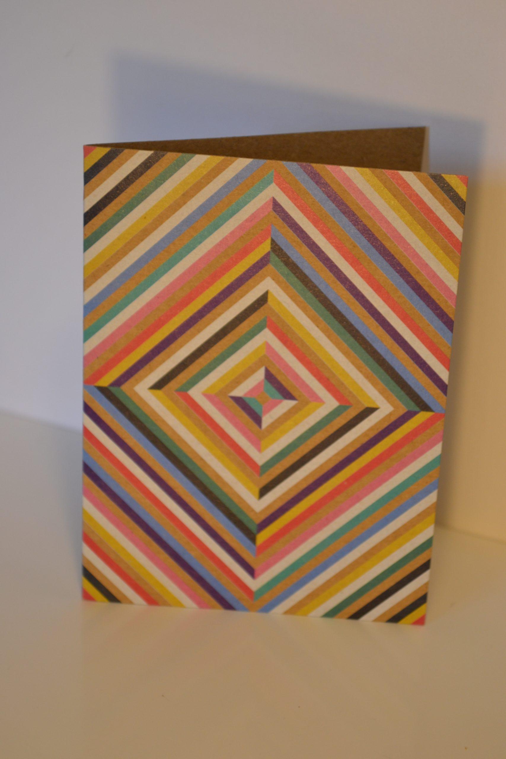 Greeting Card - Squares