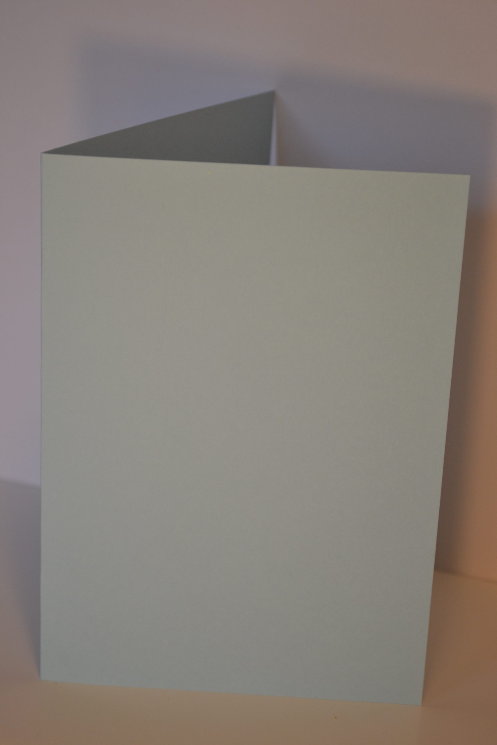 Greeting Card - Pastel Blue