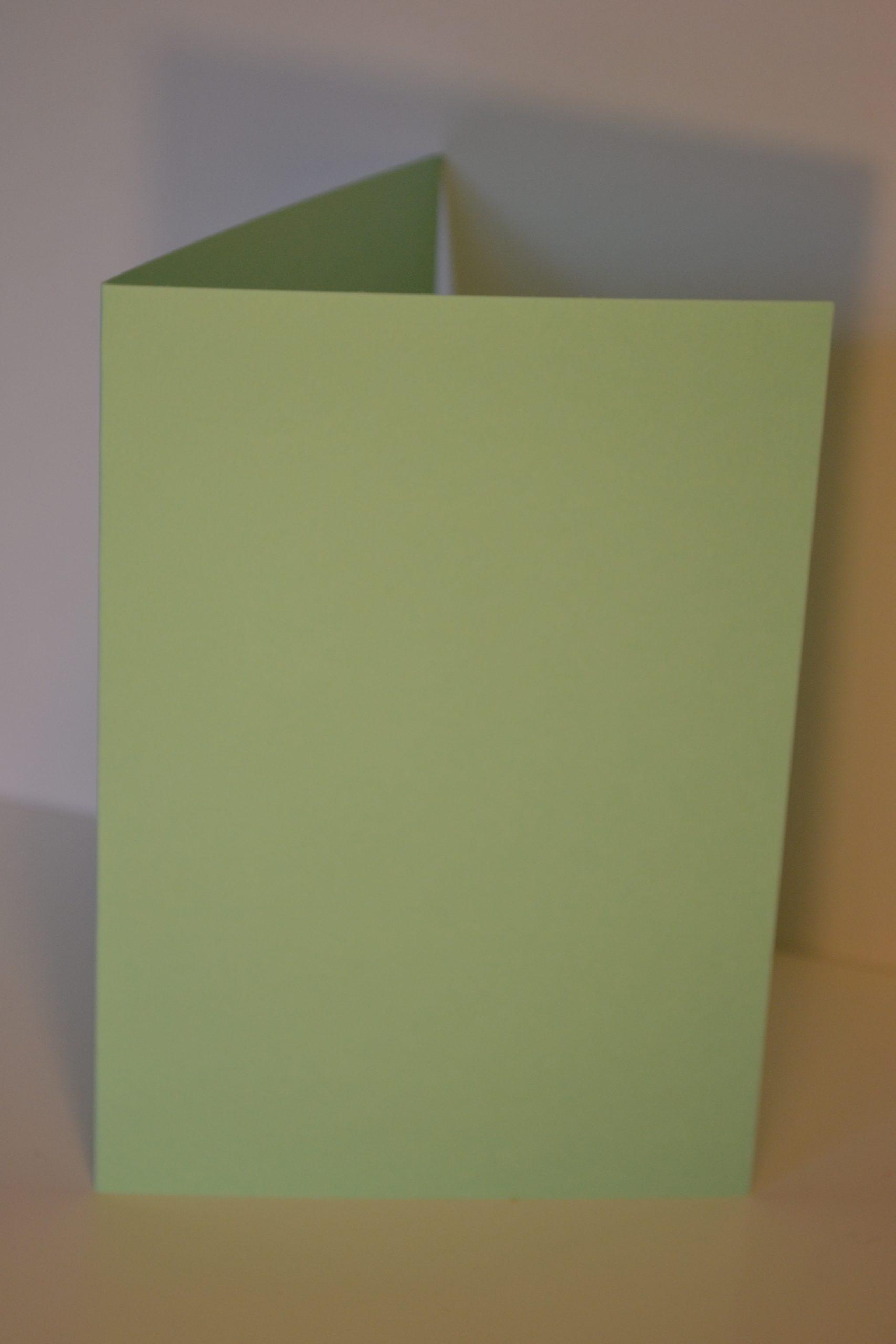 Greeting Card - Pastel Green