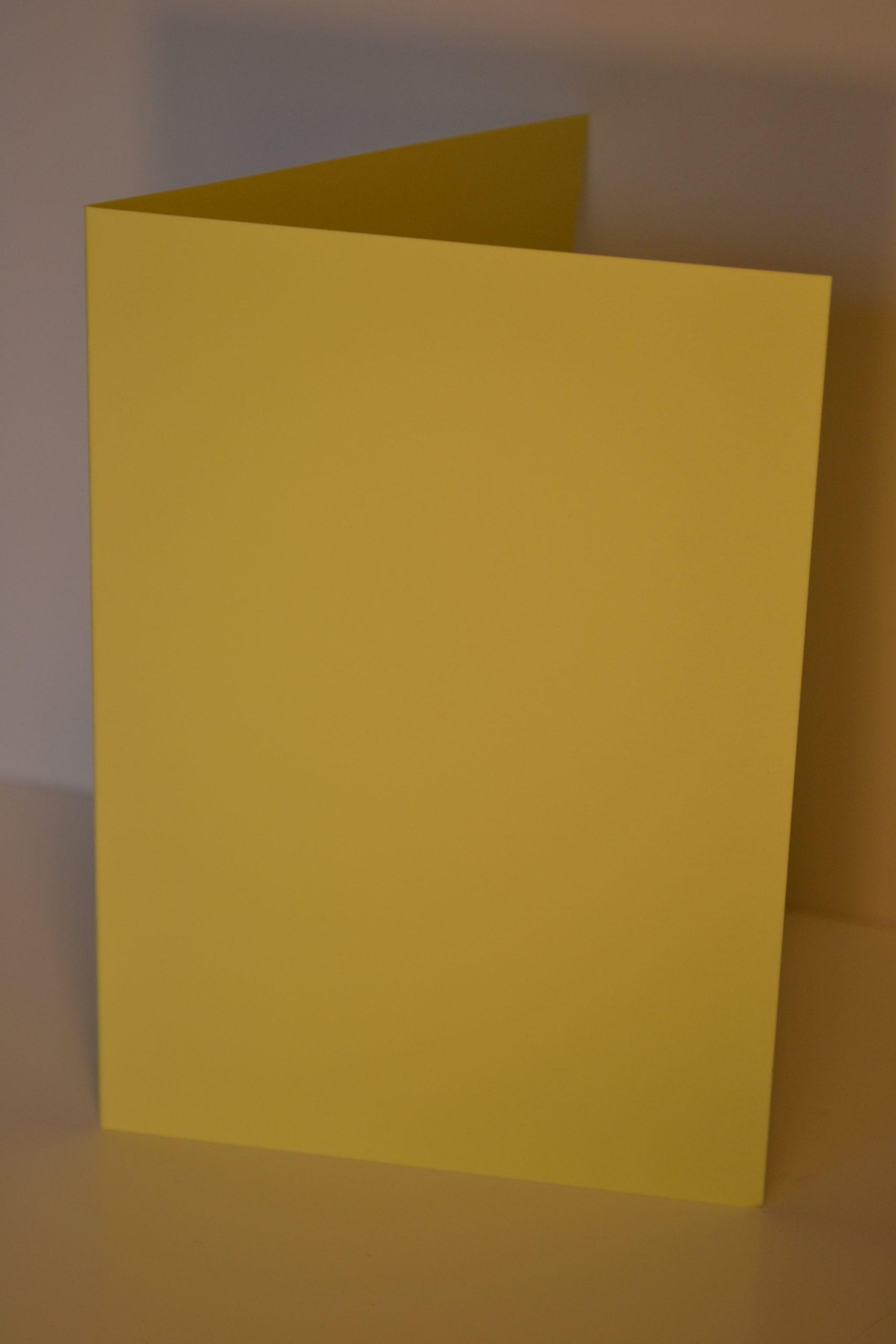 Greeting Card - Pastel Yellow